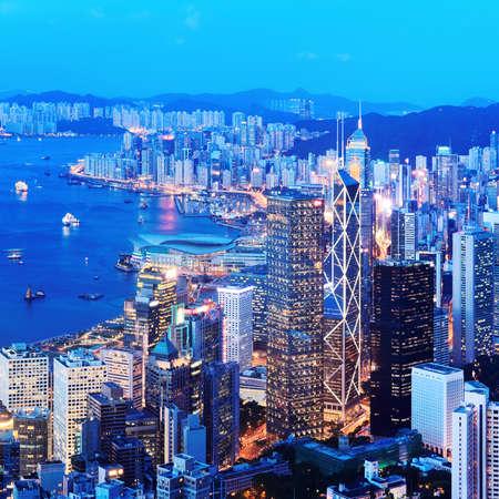 hong: Hong Kong at Night