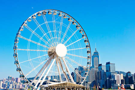 theme parks: Hong Kong Observation Wheel