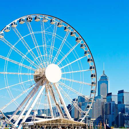 wheel spin: Hong Kong Observation Wheel