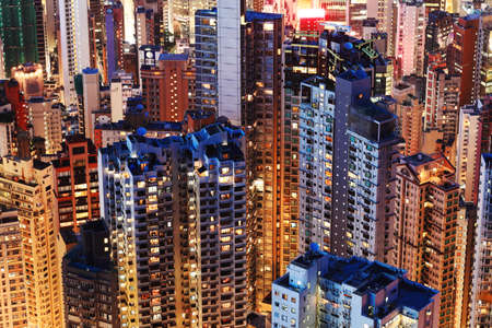 high rise: Hong Kong City