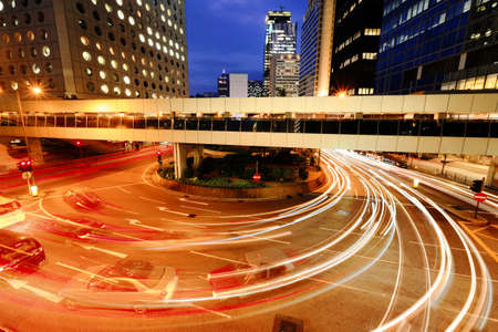 night traffic: Night Traffic Stock Photo
