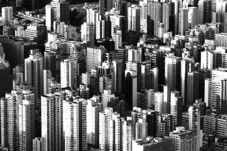 residential district: Downtown Hong Kong