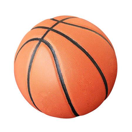 high school basketball: Basketball. Stock Photo
