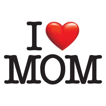 i love you sign: I LOVE MOM