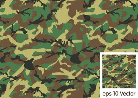 Woodland Camouflage background