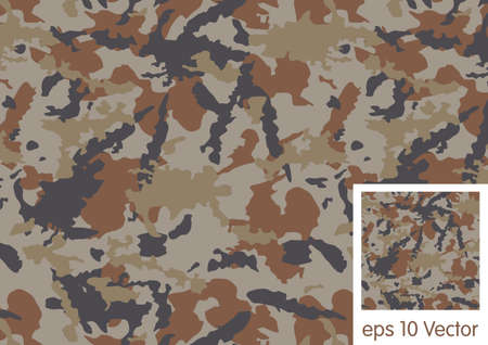hid: Woodland camouflage pattern