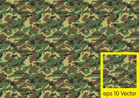 Motif de camouflage Woodland