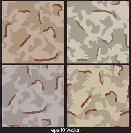 color conceal: Seamless Camouflage pattern vector