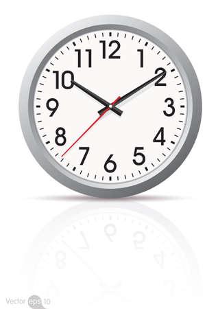 reloj: vector de reloj
