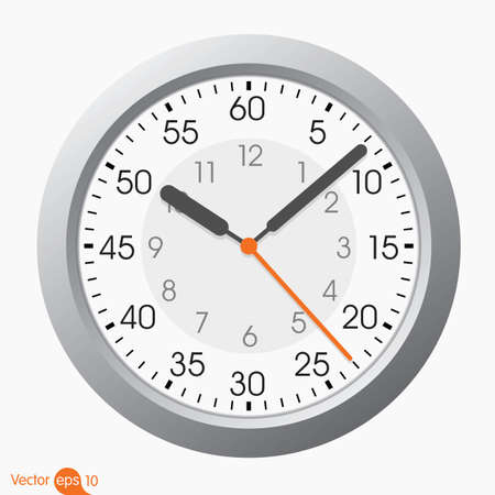 two sided clock Vector