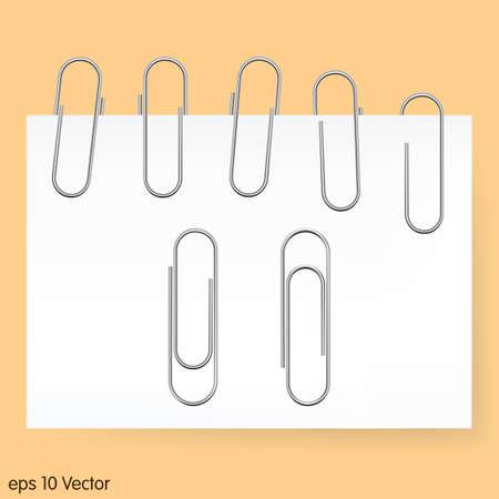 paper clip: Paperclip set