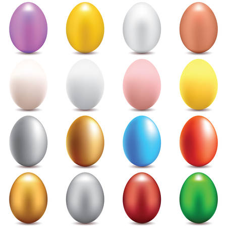 eggs set  イラスト・ベクター素材