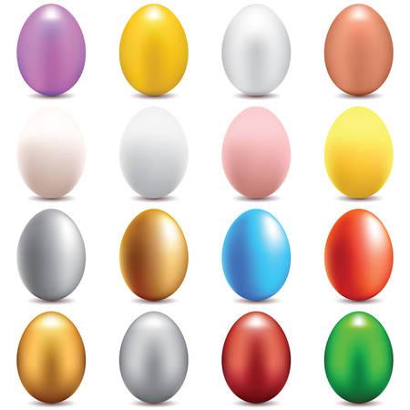 eggs set Illustration