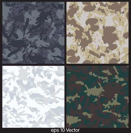 acu: Seamless Camouflage pattern vector