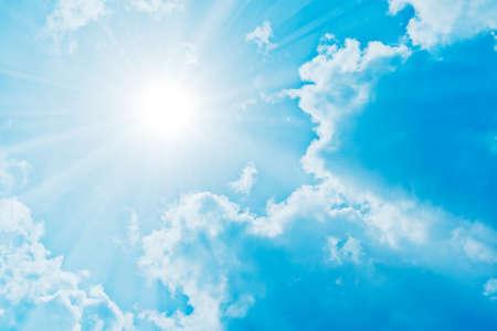 太陽の輝き 写真素材