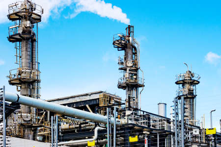 naphtha: Gas processing plant