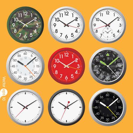 vector elements: Set of clocks