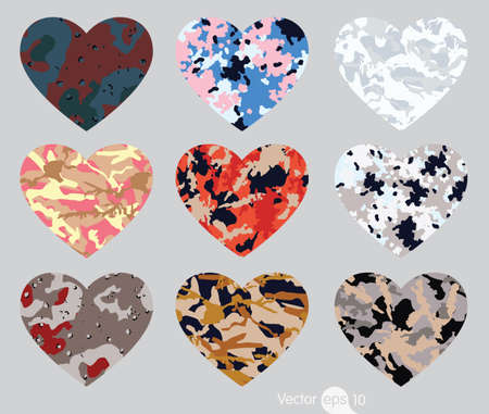 acu: Heart of camouflage Illustration