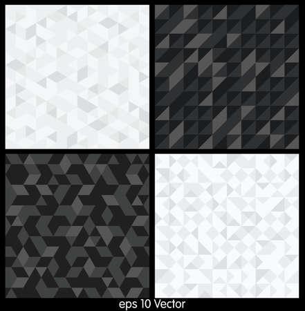 Pattern of geometric shapes