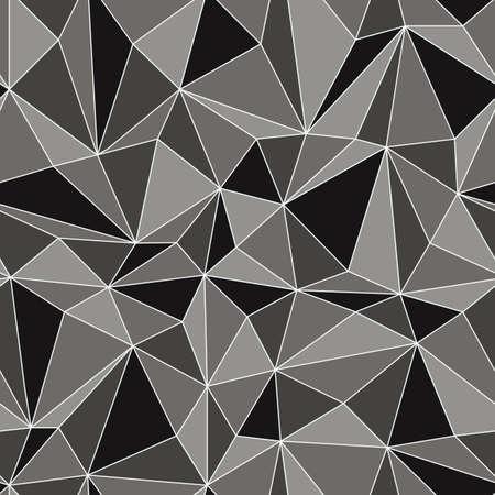 Nahtlose Diamant-Muster aus geometrischen Formen