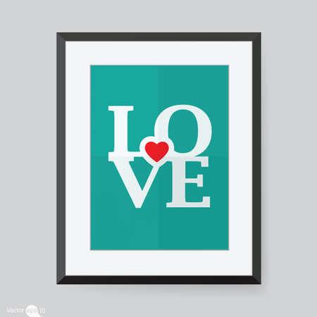 classic style: photo frame Stock Photo