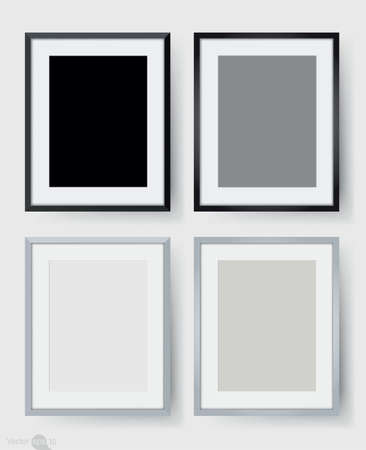 photo frames: Photo frames on wall