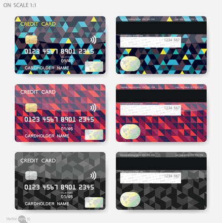 mastercard: Geometric Shapes Credit Cards