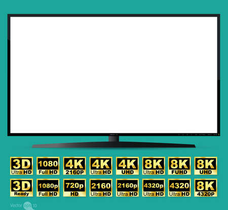 high definition: High definition digital television screen