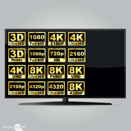 digital television: High definition digital television screen
