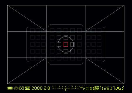 Camera schermo di messa a fuoco
