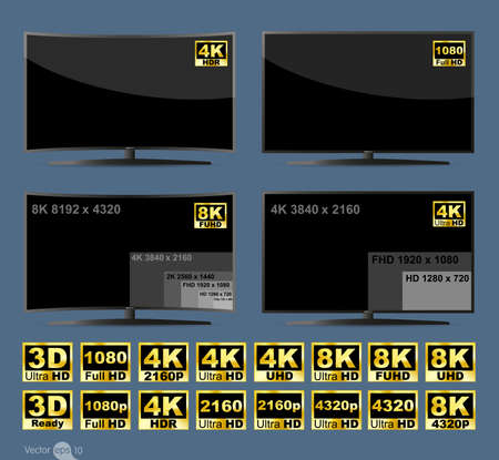lcd tv: High definition digital television screen
