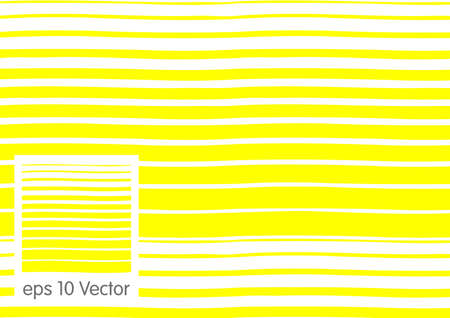 faint: Abstract seamless yellow wave lines Illustration