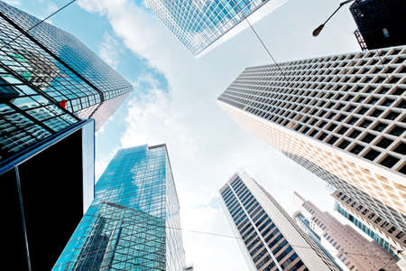 commercial building: Abstract buildings background
