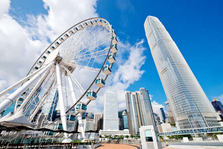 hongkong: hong kong city skyline