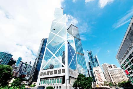 Città hong kong Archivio Fotografico - 61325887