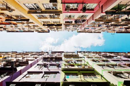 Residential buildings in Hong Kong