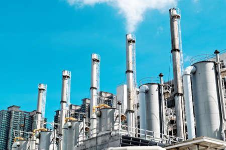 destilacion: Industria de petróleo y gas