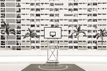 vibrancy: Oldest public housing estates, Choi Hung estates, Hong Kong