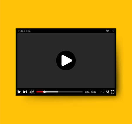 video player: Video player, Vector