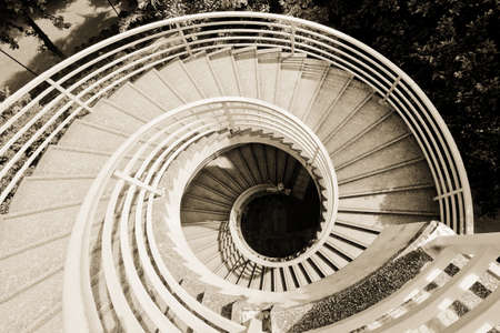 worn structure: Architectural design of stairs