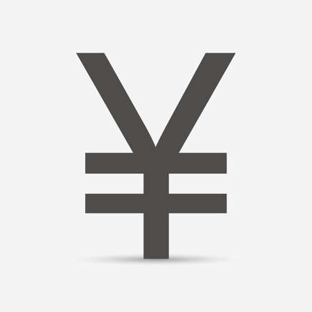 currency symbol: Japanese Yen or Chinese Yuan currency symbol
