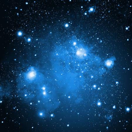 Raum-Hintergrund mit Sternen