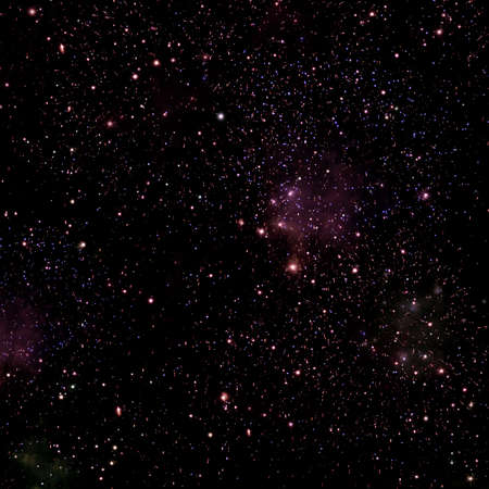 astrophotography: Space background with stars