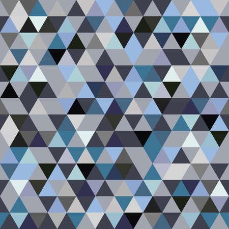 triangular: Seamless Pattern of geometric shapes Illustration