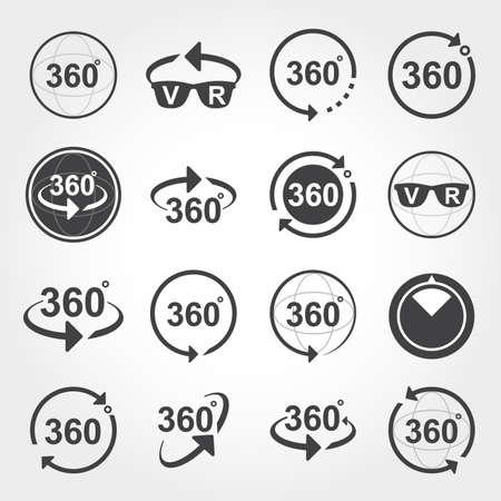 360도보기 기호 아이콘