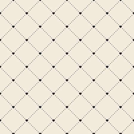 Retro pattern of geometric shapes Illustration