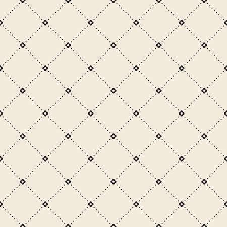 stripes pattern: Retro pattern of geometric shapes Illustration