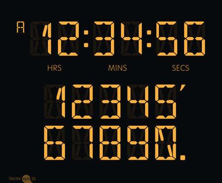 pm: digital clock