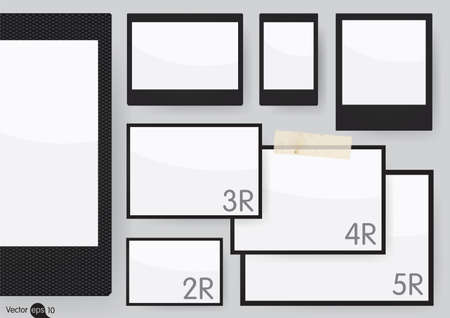 size: Set of Frames (on scale 1: 1)