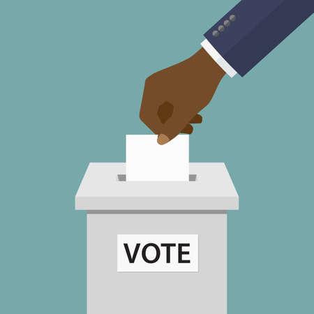 Concept de vote.
